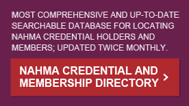 NAHMA Credential and Membership Directory