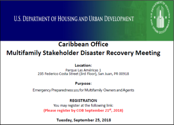 Disaster Recovery Resources - NAHMA